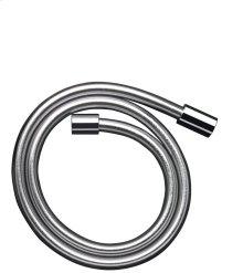 Chrome Metal effect shower hose 2.00 m