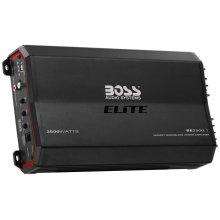 "Elite 2500W Monoblock, Class A/B Amplifier Dimensions 12.75""L 7""W 2.5""H"