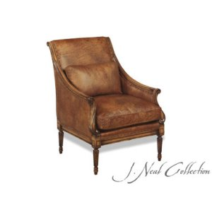 J. Neal Collection Italian Carved Chair