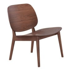 Priest Lounge Chair Walnut Product Image