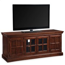 """Bella Maison 60"""" Chocolate Cherry TV Console with Lever Handles #81560"""