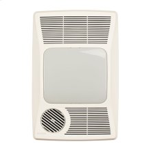 Heater/Fan/Light, 1500W Heater, 27W Fluorescent Light, 100 CFM