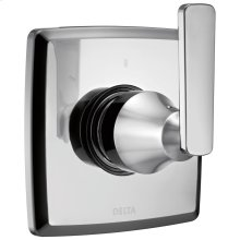 Chrome 3-Setting 2-Port Diverter Trim