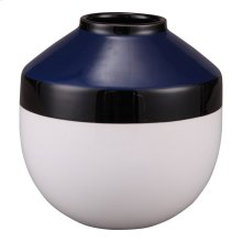 Torpedo Vase Small Blue