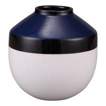 Torpedo Vase Small Blue