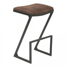 "Armen Living Atlantis 26"" Counter Height Backless Barstool"