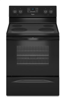 Whirlpool® 5.3 Cu. Ft. Freestanding Electric Range with Easy Wipe Ceramic Glass Cooktop
