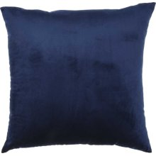"Luminescence Qy168 Navy 18"" X 18"" Throw Pillows"
