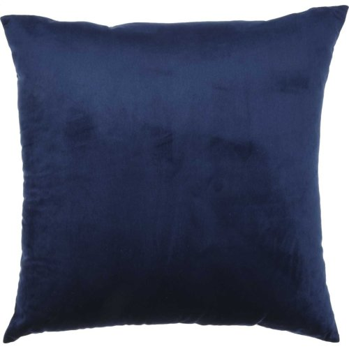 "Luminescence Qy168 Navy 18"" X 18"" Throw Pillows"