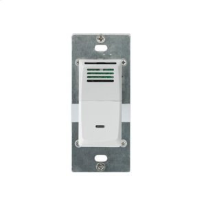 Humidity Sensing Wall Control in White Product Image