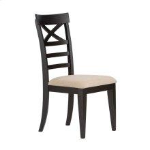 X Back Side Chair - Black (RTA)