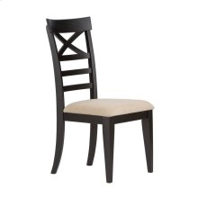 X Back Side Chair - Black (RTA)