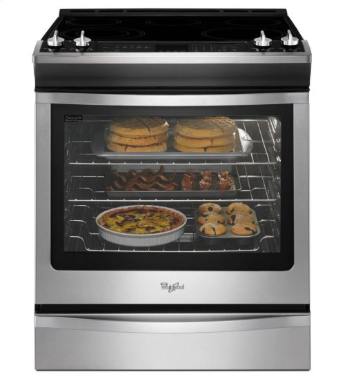 6.2 cu. ft. Front-Control Electric Range with True Convection