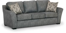 Sofa in Arcadia Pewter Fabric (Special Pricing in this Cover!)