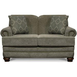 ENGLAND FURNITURE Reed Loveseat With Nails 5q06n