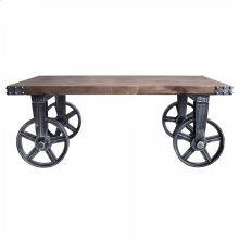 Armen Living Trego Industrial Coffee Table