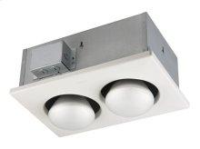 Two-Bulb Heater, 2-250W Bulbs