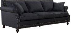 Camden Grey Linen Sofa Product Image