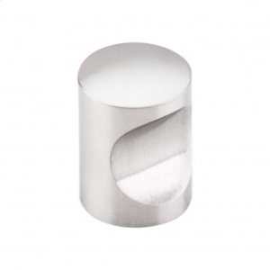 Indent Knob 13/16 Inch - Stainless Steel