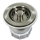 """DR220 2"""" Jr. Strainer in Brushed Nickel Drain Product Image"""