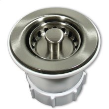 "DR220 2"" Jr. Strainer in Brushed Nickel Drain"