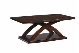 REctangular Cocktail Table - Espresso Finish