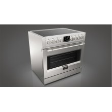 """36"""" Induction Pro Range - stainless Steel"""
