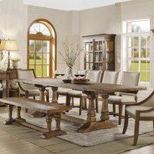 Hawthorne - Rectangular Dining Table - Barnwood Finish