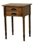 """#272 2 Drawer Lamp Table 20.5""""wx17""""d28.5""""h Product Image"""