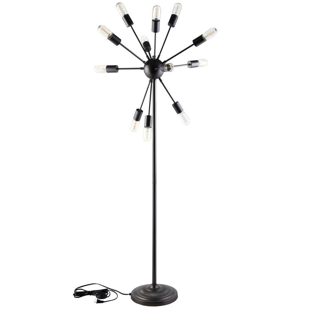 Spectrum Floor Lamp in Black