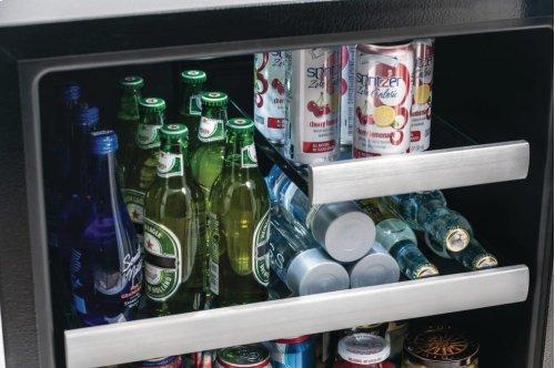 24'' Under Counter Beverage Center with Left Hand Door Swing
