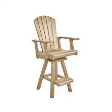 C25 Swivel Pub Arm Chair