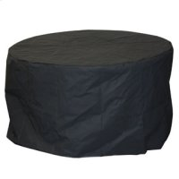 "54"" Round Fire Table Cover Product Image"