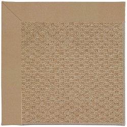 Creative Concepts-Raffia Canvas Camel Machine Tufted Rugs