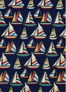 6856/8252 Yatching / Navy Area Rugs