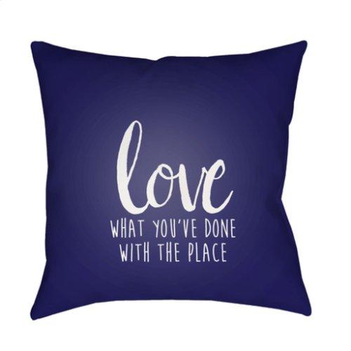 """Love The Place QTE-053 18"""" x 18"""""""