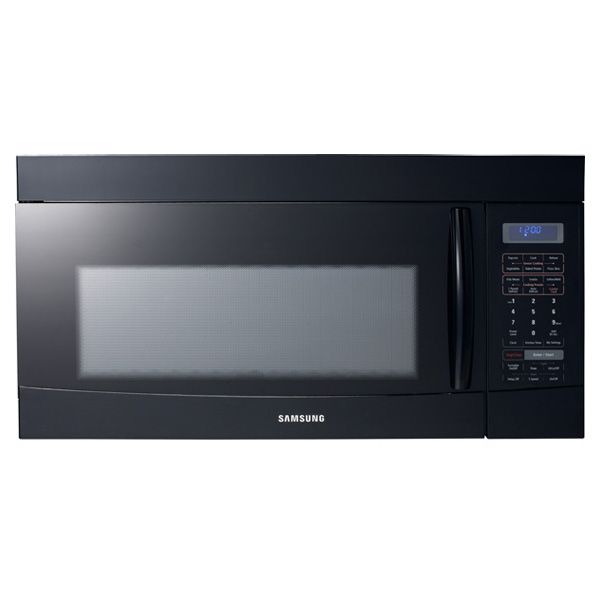 smh9187b in black by samsung in key west fl 1100w 1 8 cu ft otr rh kolhages com samsung microwave smh9187st manual Samsung 1816s Microwave Installation Template