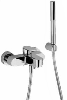 Wall-mount bathtub mixer