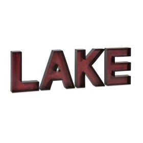 Lake Metal Wall Letters