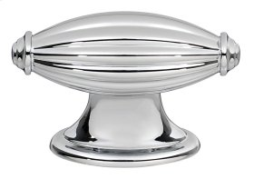 Tuscany Knob A231 - Polished Chrome