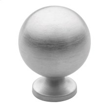 Satin Chrome Spherical Knob