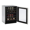 """U-Line Modular 3000 Series 24"""" Wine Captain(r) Model With Stainless Frame Finish And Field Reversible Door Swing (115 Volts / 60 Hz)"""