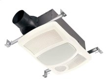 Heater/Fan/Light, 1500W Heater, with 27W Fluorescent Light, 100 CFM; Ventilation Fans