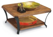 Kenwood Sq Cocktail Table W/ Casters