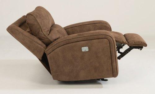 Rhapsody Fabric Power Gliding Recliner with Power Headrest