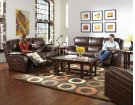 Reclining Console Loveseat w/Storage, Cupholders, USB Product Image