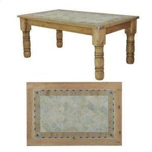 4'x4' Stone Dining Table