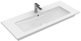 """Vanity washbasin 47"""" Angular - White Alpin CeramicPlus"""