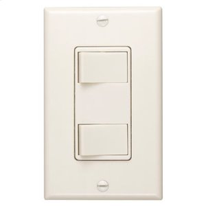 120V Two-Function Controls - Ivory Finish