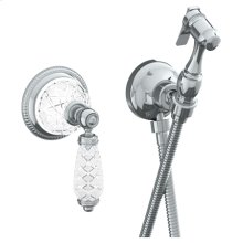 "Wall Mounted Bidet Spray Set & Progressive Mixer With 49"" Hose"